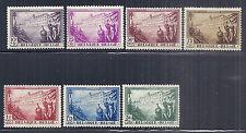1932 Belgium SC B125-B131 Set of 7, Semi Postal Anti Tuberculosis - MH*