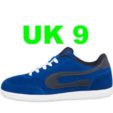 DuFFS Mens Suede Skate Shoes Blue/Navy UK 9 Skater Board Trainers Duff