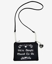 Disney The Nightmare Before Christmas Simply Meant To Be Crossbody Bag Purse