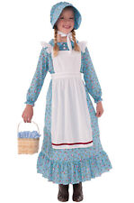 Brand New American Colonial Pioneer Girl Child Costume (Small)