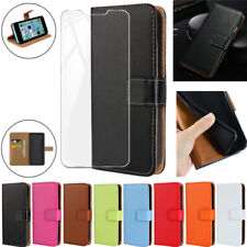 Luxury Wallet Leather Flip Case Tempered Glass For Blackview A60 A80 S8 BV5500