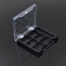 3pcs Empty Magnetic Eyeshadow Pans Powder Container Cosmetics DIY Makeup 6 Cases