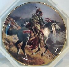 """Great Spirit,Guide My Hand (Franklin Mint) Ltd Edition Plate"