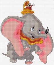 Dumbo puntada cruzada contada Kit. película de Disney// Childrens/elefantes