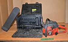 Vintage Craftsman chainsaw 42cc firewood tool with case logging saw