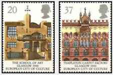 Timbres Grande Bretagne 1457/8 ** lot 28481