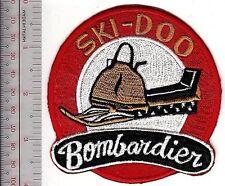 Vintage Snowmobile Canada Ski Doo Bombardier mid 1960 Promo Patch Valcourt, Q