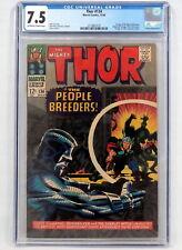 Marvel Comics Thor #134 CGC 7.5 1st App High Evolutionary Man-Beast Fafnir 1966