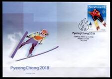 Olympische Winterspiele, Pyeongchang. Eisschnellauf. FDC. Estland 2018