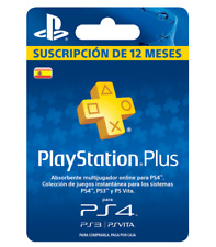 PSN PLUS / PLAYSTATION PLUS / 1 AÑO / 12 MESES (LEER DESCRIPCION PARA REBAJA)