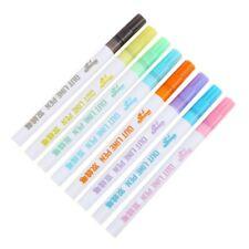 Drawing Double Line Outline Pen Highlighter Marker 8 Colors Art Pen School Tool