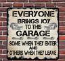 Garage Metal Hanging Plaque Wall Sign Cars Workshop Funny Mechanic Gift Present