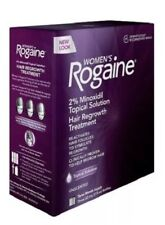 Rogaine For Women 3 Month Supply 2% Minoxidil Hair Regrowth Treatment~Exp11/22