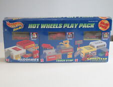 Vintage Mattel Hot Wheels Play Pack McDonalds Truck Stop Good Year VERY RARE NIB