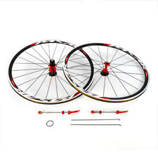 Sale!700C Ultra Light Road Bike Wheel Front Rear Wheelset Aluminum Rim Brake C/V