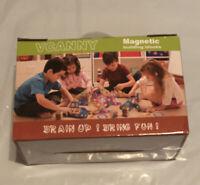 Vcanny Magnetic Building Blocks Set 118 Pieces Intelligence Development NEW