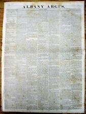 1836 newspaper TEXAS WAR of INDEPENDENCE Texans Capture the Alamo in SAN ANTONIO