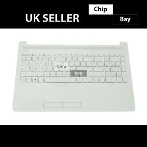 HP 15-DB SERIES PALMREST KEYBOARD TOP CHASSIS COVER WHITE AP29M000410