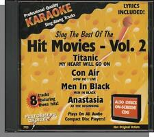 Karaoke CD+G - Sing the Best of The Hit Movies, V2 - New Performer's Choice CD!