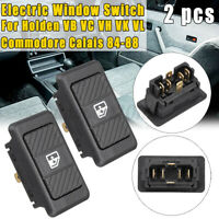 2Pcs Electric Window Switch For Holden VB VC VH VK VL Commodore Calais 1984~1988
