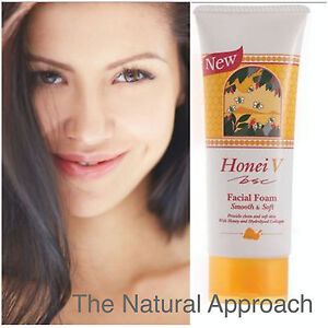 HONEI V BSC Facial Foam Anti-Aging Soft Smooth Natural Cleanser Acne Treatment