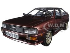 1981 AUDI QUATTRO COUPE SATURN METALLIC 1/18 DIECAST CAR MODEL BY SUNSTAR 4159