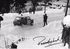 "Paddy Hopkirk SIGNED 12x8  Mini-Cooper S Monte Carlo Rally 1964  "" Winners """