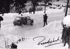 "Paddy Hopkirk SIGNED 12x8  Mini-Cooper S Monte Carlo Rally 1964  "" Winners """