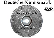 Deutsche MÜNZEN 110 eBooks DVD Preußen Bayern Sachsen NUMISMATIK Coin GERMANY
