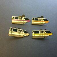 WDW - Cast Lanyard Collection 4 - Monorails - 4 Pin Set Disney Pin 41186