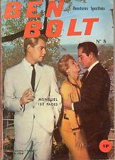 BEN BOLT 8 (AVENTURES SPORTIVES BOXE)  EDI EUROP 1964
