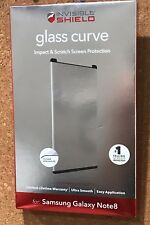 New ZAGG Invisible Shield Glass Curve for Samsung Galaxy Note 8