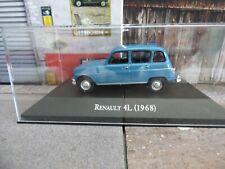 RENAULT 4L 1968 COLLECTION ARGENTINE  NEUVE-boite plexi