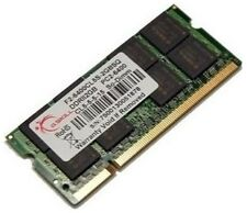 G.Skill PC2-6400 2 GB SO-DIMM 800 MHz DDR2 SDRAM Memory (F2-6400CL5S-2GBSQ)