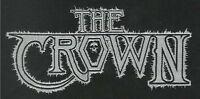 The Crown - White Logo - Aufnäher / Patch - Neu #7820