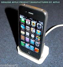 Genuine Apple iPhone 2G / 4 / 4S White Desktop Charging Dock Sync Station Pod