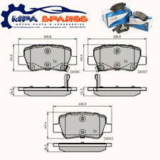 Rear Brake Pads Toyota Avensis 09-> ADB32026 PAD1723 MDB3036