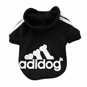 Dog Hoodies Adidog Clothes Fleece Hoodie Sweater Cotton Jacket Sweat Small Dog