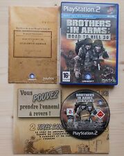 Brothers In Arms Road To Hill 30 Frères d'armes PS2 Complet