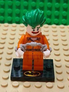 Lego Batman Movie Figure - The Joker - Arkam Asylum - Includes Stand