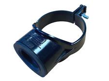 """Black 3"""" 82mm x 40mm 43mm Boss Clip Strap Boss 1 1/2"""" Pushfit Adaptor"""