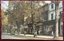 1960s Vintage High Street Photo - The Promenade, Cheltenham, Posted 1967