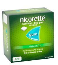 Nicorette Chewing Gum Freshmint 2mg 210 Pieces