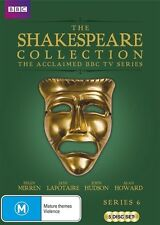 BBC Shakespeare Collection: Series 6 NEW R4 DVD