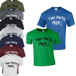 Two Pints, Prick! T-Shirt Still Game Scottish Humour Scotland Joke Funny Comedy