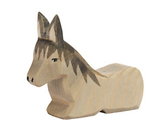 Nativity Figurine Donkey Li Lying Wood Figure ostheimer 42117