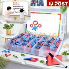104PCS Magnetic Letters Alphabet Learning Toy Kids Baby Fridge Magnets Xmas Gift