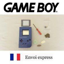 Coque GAME BOY fat original bleu rare color NEUF + triwing -étui shell case blue