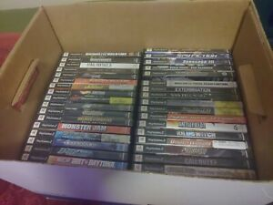 Random Game Mixed Lot with 48 games from PS1, PC, PS2 and Wii and ETC