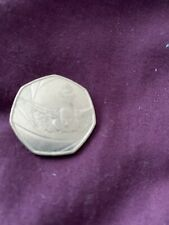 2016 50P COIN TEAM GB RIO OLYMPIC SWIM RARE FIFTY PENCE UNCIRCULATED SWIMMING